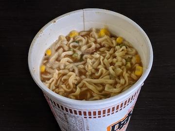 味噌(熱湯3分後)