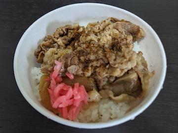 牛丼(2)