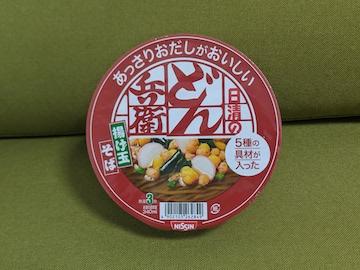 どん兵衛揚げ玉そば(1)
